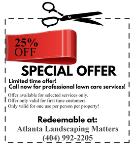 Lawn service coupon